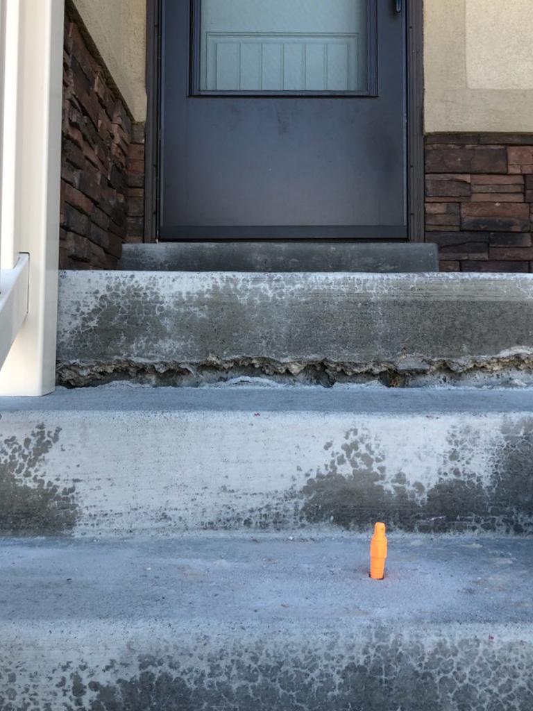 Stairs sinking in Lehi UT