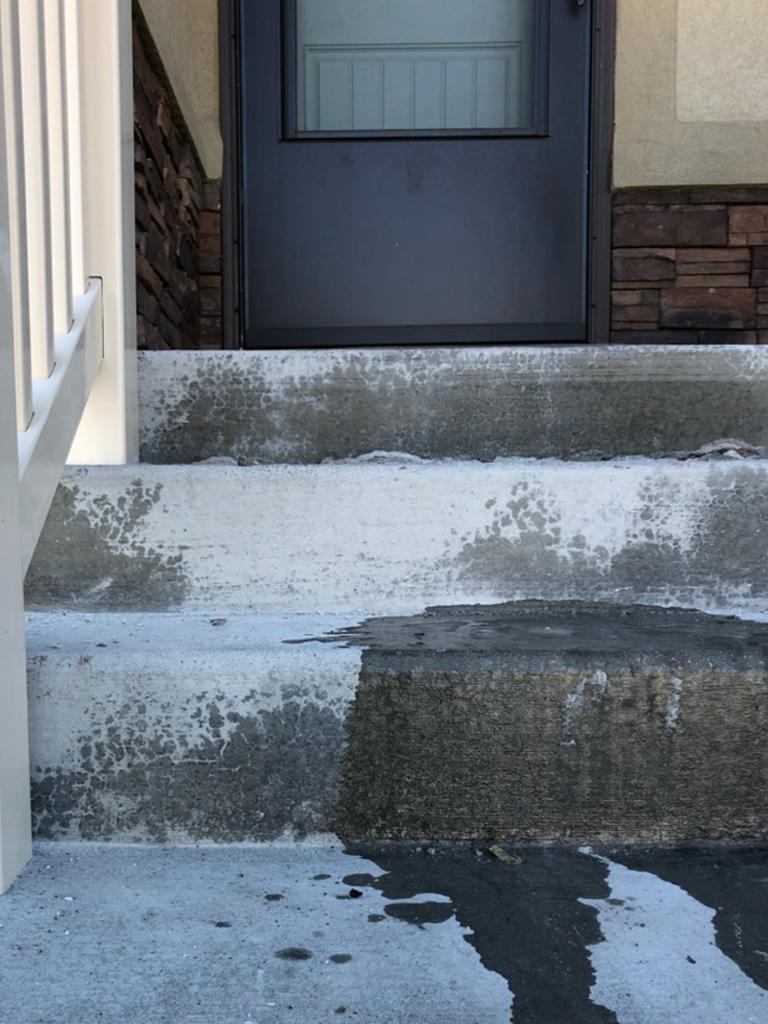 Stairs sinking in Lehi UT-2