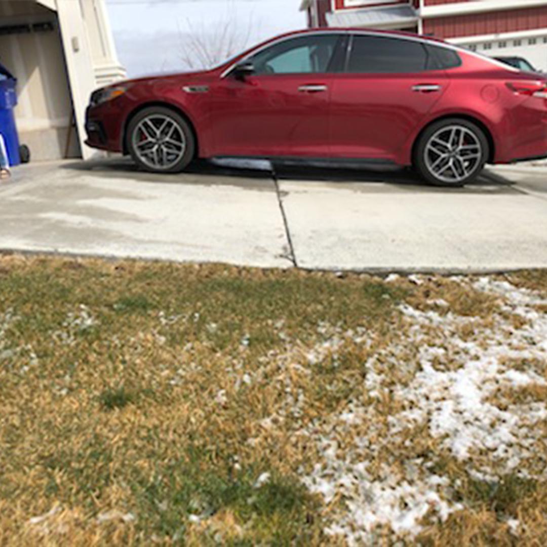 Driveway Lifting in Saratoga Springs Utah
